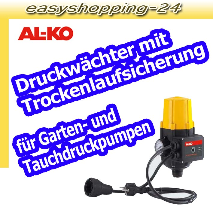 al ko hydrocontrol druckschalter mit trockenlaufschutz. Black Bedroom Furniture Sets. Home Design Ideas