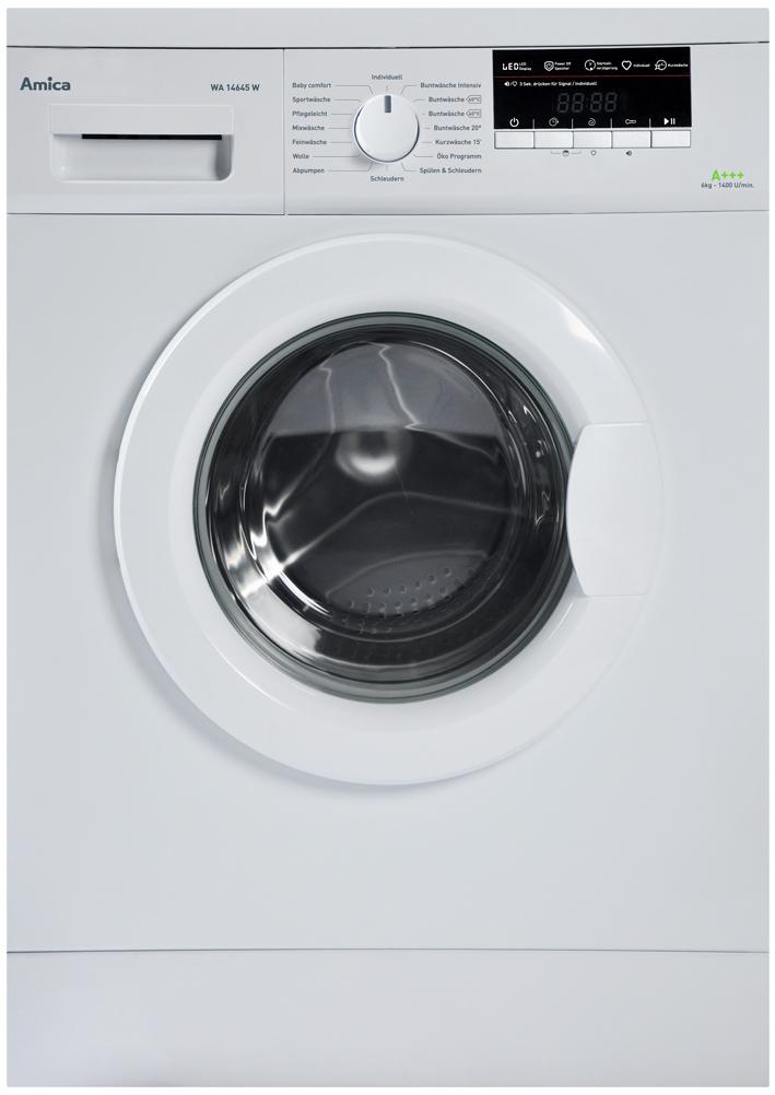 amica 6 kg frontlader waschmaschine eek a. Black Bedroom Furniture Sets. Home Design Ideas