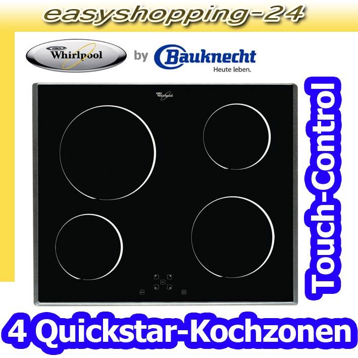 whirlpool akt 808 ix glaskeramik kochfeld autark 60 cm. Black Bedroom Furniture Sets. Home Design Ideas