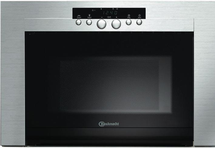 bauknecht emwd 3624 in einbau mikrowelle edelstahl 750 watt mikrowellenherd ebay. Black Bedroom Furniture Sets. Home Design Ideas