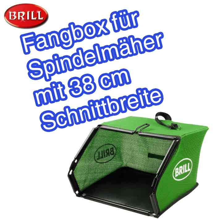 brill fangbox fangkorb f r spindelm her razor cut rasenm her 38 ebay. Black Bedroom Furniture Sets. Home Design Ideas