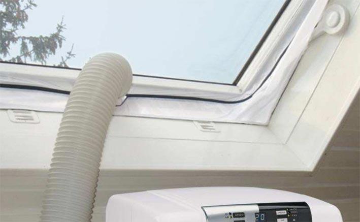 einhell hot air stop fensterabdichtung f r mobile. Black Bedroom Furniture Sets. Home Design Ideas