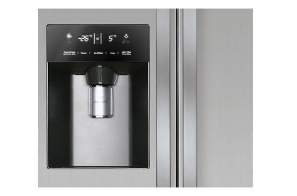 lg side by side a k hl gefrierkobination 508 liter k hlschrank wasserspender ebay. Black Bedroom Furniture Sets. Home Design Ideas