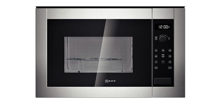 neff einbau mikrowelle edelstahl mikrowellenherd mit grill. Black Bedroom Furniture Sets. Home Design Ideas
