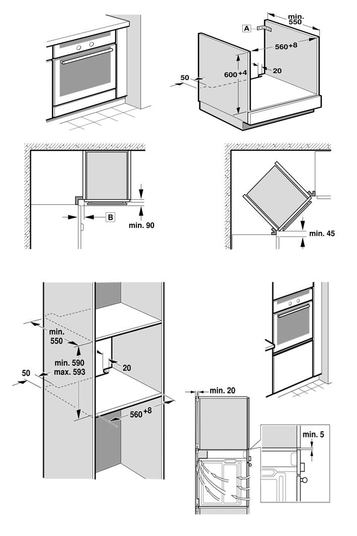neff einbau backofen herd autark hei luft edelstahl easyclean slide hide neu ebay. Black Bedroom Furniture Sets. Home Design Ideas