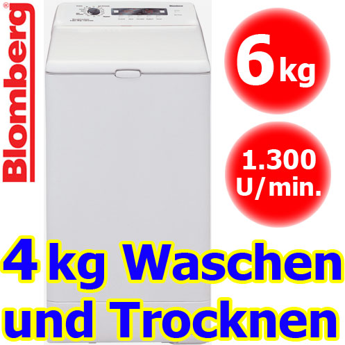 blomberg wdt 6335 wasch trockner kombiger t toplader waschtrockner waschmaschine ebay. Black Bedroom Furniture Sets. Home Design Ideas