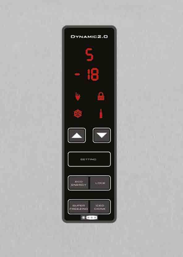hoover k hl gefrierkombination a k hlschrank edelstahl flaschenregal 181 kwh ebay. Black Bedroom Furniture Sets. Home Design Ideas